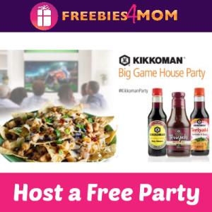 Free Kikkoman Big Game House Party
