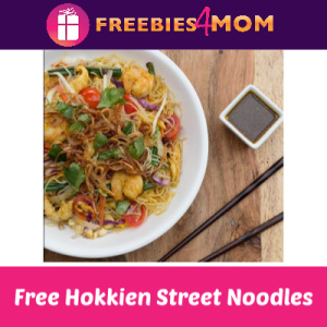 Free Hokkien Street Noodles at P.F. Chang's