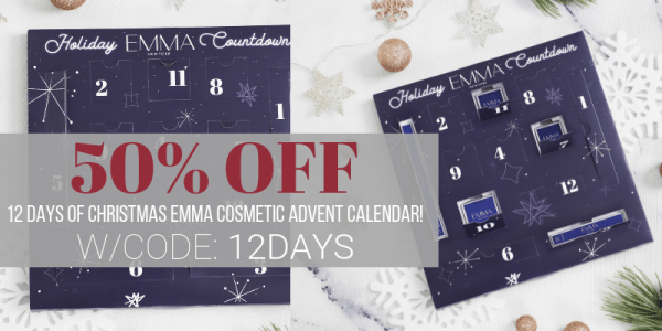 50% off Makeup Countdown Calendar