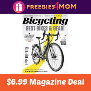 Magazine Deal: Bicycling $6.99