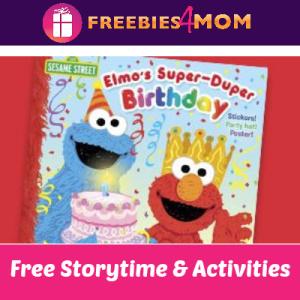 Free Elmo's Super-Duper Birthday Storytime