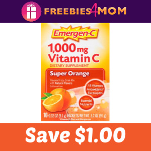 image relating to Emergen C Coupon Printable identify Expired* Coupon: Preserve $1.00 upon Emergen-C