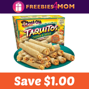 Coupon: Save $1.00 on one José Olé Snack