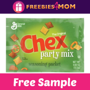 Free Sample Chex Party Mix Seasoning Packet