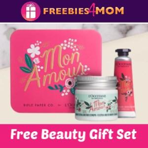Free L'Occitane Beauty Gift Set (thru 2/14)
