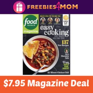 Magazine Deal: Food Network $7.95