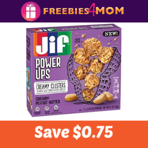 Coupon: Save $0.75 on Jif Power Ups