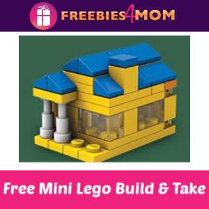 Free Lego Mini Build & Take at Barnes & Noble