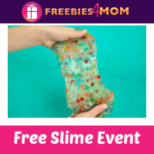 Free Crunchy Spring Slime Event at Michaels