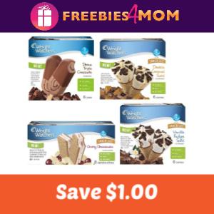 Save $1.00 on Weight Watchers Novelty Ice Cream