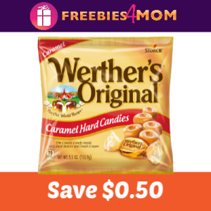 Coupon: Save $0.50 on Werther's Original