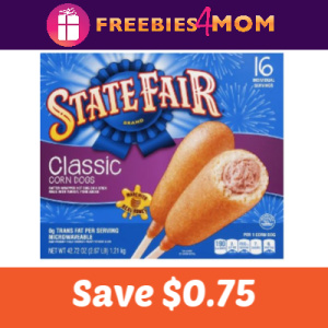 Coupon: Save $0.75 on State Fair Corn Dogs