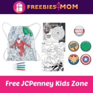 JCPenney Kid Zone Marvel Cinch Bag