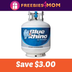 Coupon: Save $3.00 off Blue Rhino Propane Tank