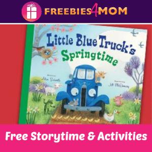 Little Blue Truck Storytime at Barnes & Noble