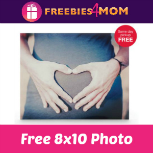 Free 8x10 at CVS (thru 6/11)