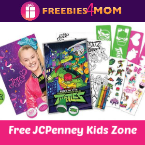 JCPenney Kid Zone Mother's Day Card