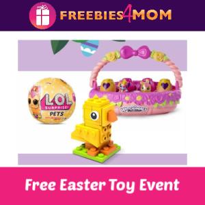 Free Easter Toy Egg-Stravaganza at Target 4/13