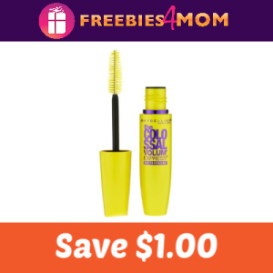 Save $1.00 on Maybelline New York Mascara