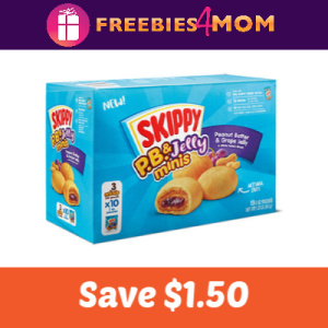 Coupon: Save $1.50 on Skippy P.B. & J Minis