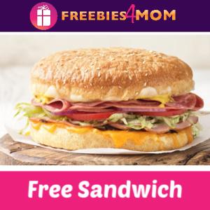 Free Original Sandwich at Schlotzsky's Today