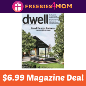 Magazine Deal: Dwell $6.99