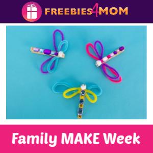 Family MAKE Week at Michaels (Starts June 2)