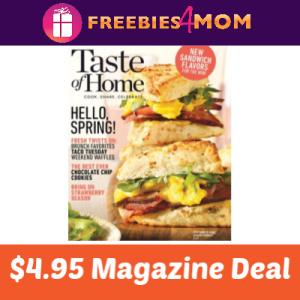 🍰Taste of Home Magazine $4.95