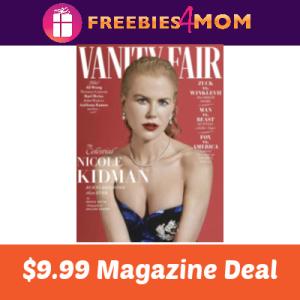 Magazine Deal: Vanity Fair $9.99