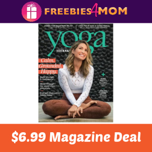 Magazine Deal: Yoga Journal $6.99