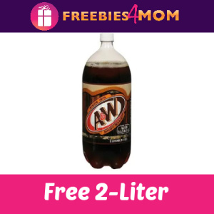 Free A&W Root Beer 2-Liter Bottle