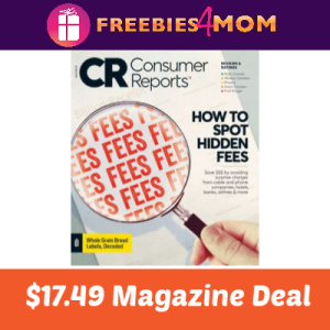 Magazine Deal: Consumer Reports $17.49
