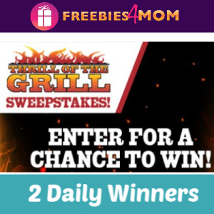Sweeps Kroger Thrill of the Grill