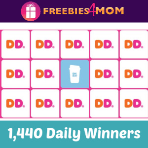Sweeps Dunkin' Bingo (1,440 Daily Winners)