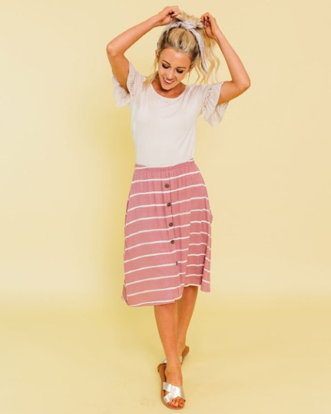 50% off Skirts (Starting at $10)