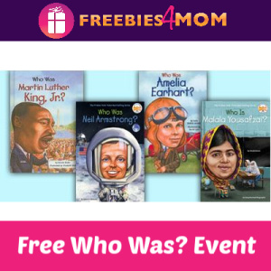 Free Who Was? Series Event at Barnes & Noble