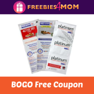 Coupon BOGO Free Red Star Yeast