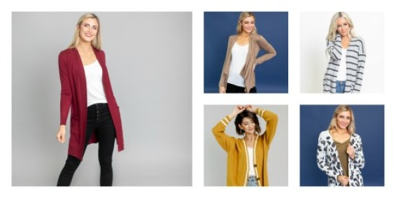 $10 off Cardigans (Starting at $17.97)