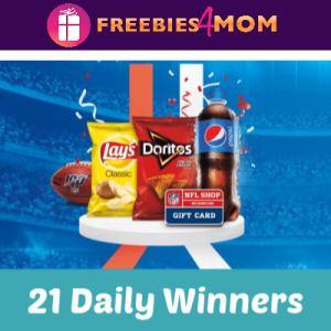 Sweeps Pepsi NFL Promotion at Circle K