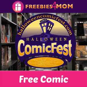 Free Halloween Comic Book Day