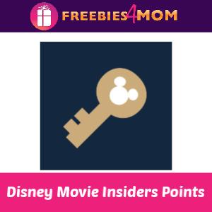 🎢Disney Movie Insiders 10 points