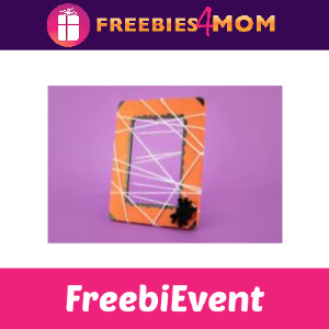 Free Spider Web Photo Frame Craft at Michaels