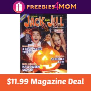 Magazine Deal: Jack & Jill $11.99