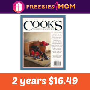 Magazine Deal: Cook's Illustrated 2 years $16.49