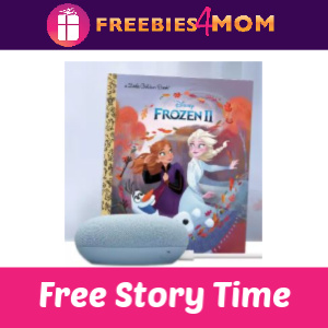 Free Disney Frozen Story Time at Target 11/23
