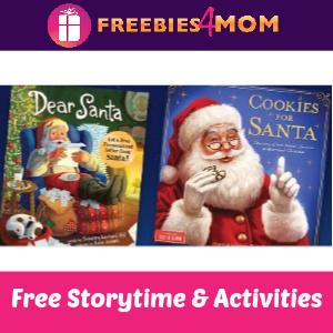Free Santa Storytime at Barnes & Noble 11/30