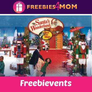 Free Santa's Wonderland Events at Bass Pro