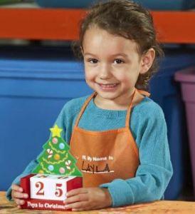Free Kids Workshop at Home Depot Dec. 7