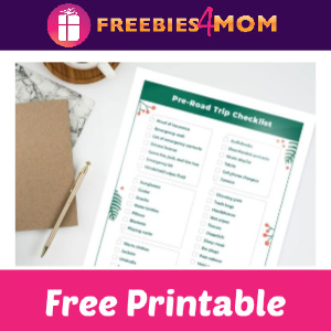 Free Road Trip Games & Checklist Printables