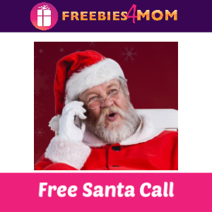 Free 2 Minute Live Santa Call ($14.95 Value)